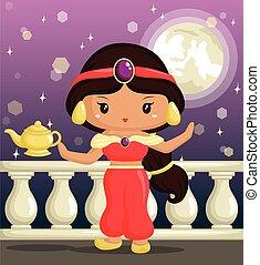 arabe, princesse