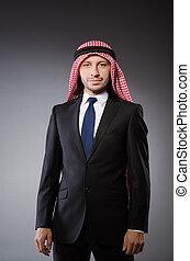 araber, begriff, andersartigkeit, mann
