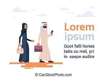 eps vektorbild von araber paar araber gehen koffer paar abbildung csp17773445 suche. Black Bedroom Furniture Sets. Home Design Ideas