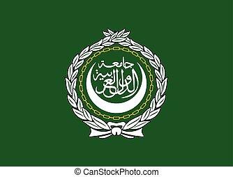 araber, liga, fahne