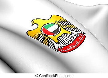 araber, mantel, vereint, emirate, arme