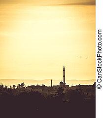 araber, siedlungen, landschaftsbild