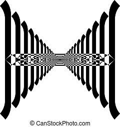 arabesco, recinto, ipnotico, prospettiva