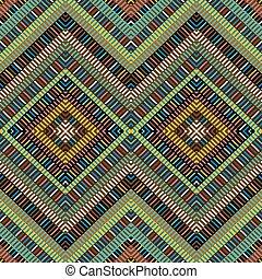 arabescos, africano, experiência colorida, geométrico