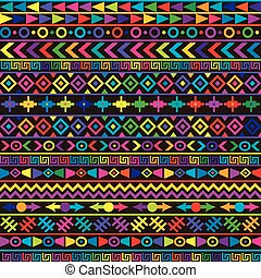 arabescos, fundo, étnico