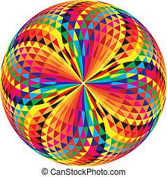 arabesque button