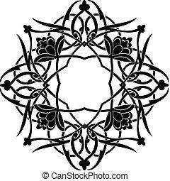 arabesque - black & white arabesque