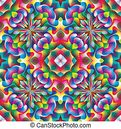 arabesque, seamless, mosaïque