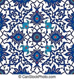 Arabesque seamless pattern