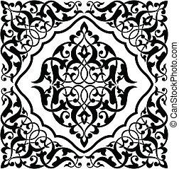 Arabesque Tile - Arabesque swatch pattern. Each color can be...