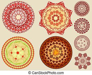 arabesques, circulaire