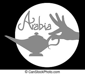 Arabia night - Creative design of arabia night