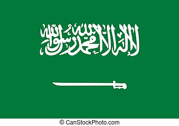 arabia, saudi, bandera