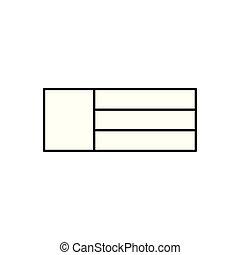 arabia saudi country flag icon vector illustration design