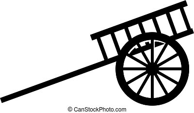 Arabian carriage icon