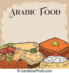 arabian cuisine menu