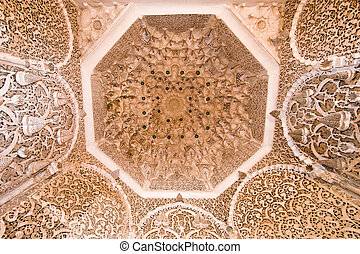 arabian ornate ceiling