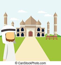 arabian tour taj mahal