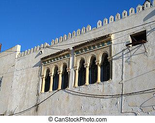 Arabian windows in Tunisia