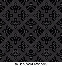 Arabic black and white pattern