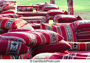 Arabic colorful pillows