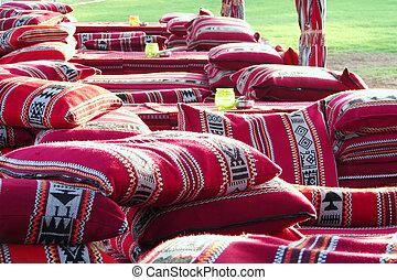 Arabic colorful pillows