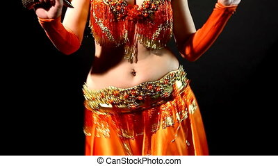 Arabic dancer with sabre - shake