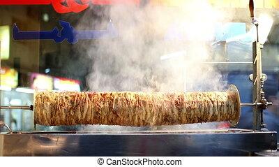 arabic fast food: kebab