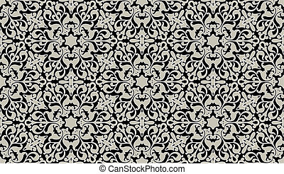 Arabic floral seamless background. - Vector background for...