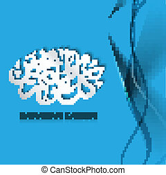 Arabic Islamic calligraphy text blue background vector