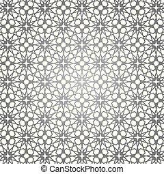 Arabic islamic pattern background. Geometrical - Ornamental ...
