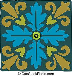 Arabic motif ornament