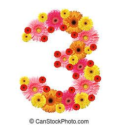 arabic numeral - 3, arabic numeral