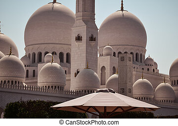 Arabic oriental islamic style geometric pattern architecture.