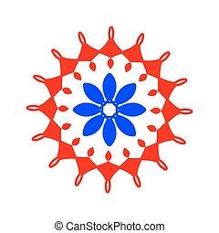 Arabic pattern. geometry pattern in vector.