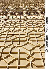 Arabic pattern on the wall