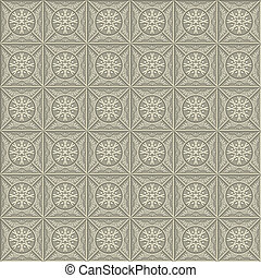 Arabic Seamless Background. Vector - Arabic seamless pattern...