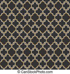 Arabic seamless pattern. Vector EPS10