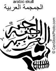 arabic skull