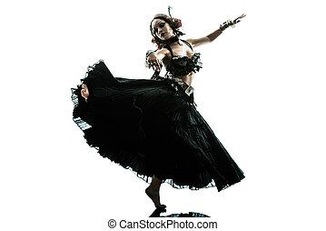 stock photos of woman modern dancing  woman in shadow