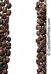 arabica, koffie boon, frame