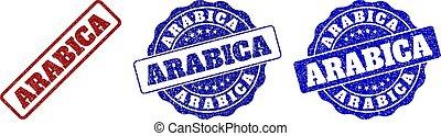 ARABICA Scratched Stamp Seals