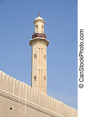 arabier, emiraten, verenigd, moskee, dubai