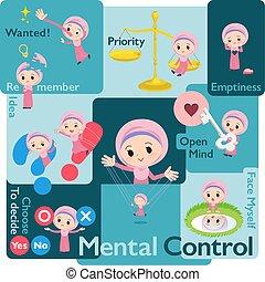 arabier, hijab, girl_mental