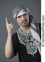 arabische , man