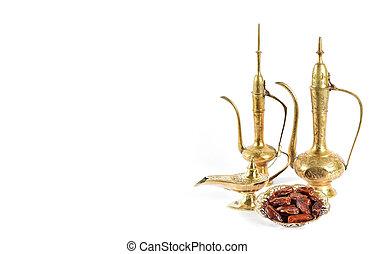 arabisches , feiertage, orientalische , dekoration, ramadan, kareem