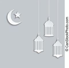 arabisches , hintergrund, für, ramadan, kareem