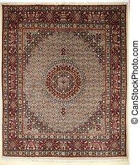 arabiska, matta, färgrik, perser, islamitisk, handcraft
