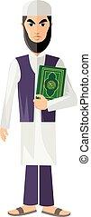 muslim - Arab,muslim,in keffiyeh and traditional...