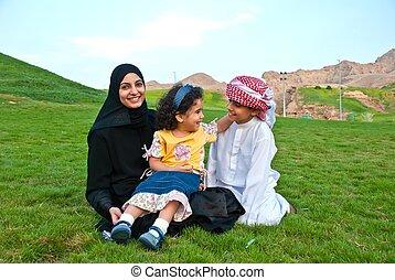 arabo, famiglia